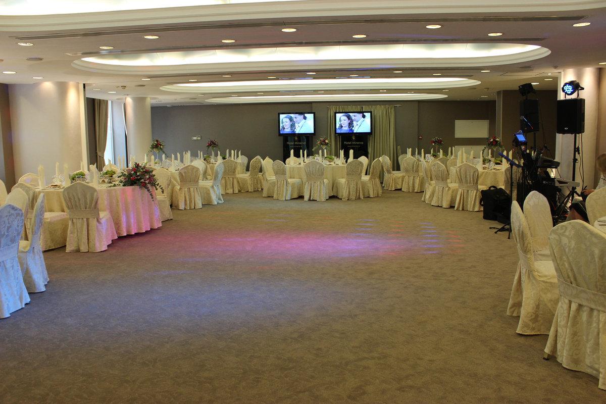 Hotel Minerva - Sala de evenimente 3